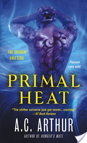 Primal Heat by A. C. Arthur