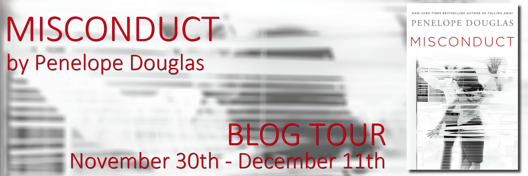 Misconduct * Blog Tour * Review * Sexy Excerpt * Two Fantastic Giveaways