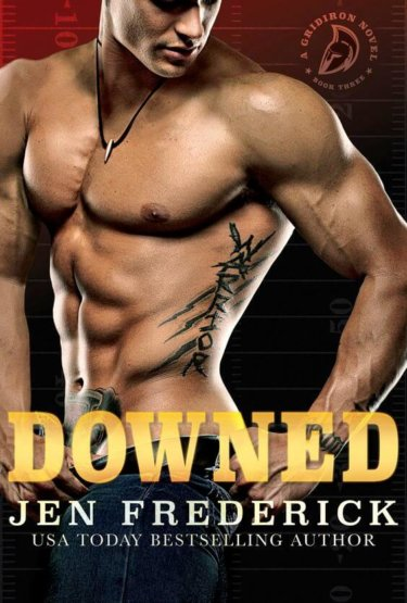 Downed: A Novel (Gridiron Book 3) by Jen Frederick